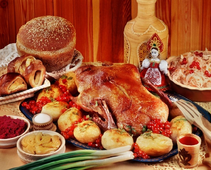 Основные блюда русской кухни