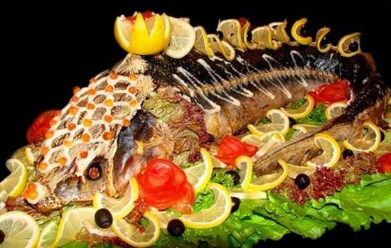 русская кухня и рыбные блюда