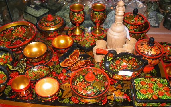 русская кухня столовые приборы