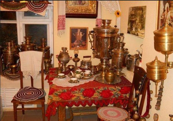 русская кухня самовар