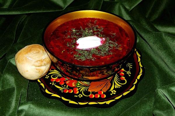 рецепт борща борщ сибирский