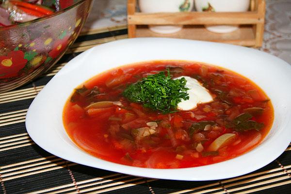 Борщ со свекольной ботвой рецепты первых блюд