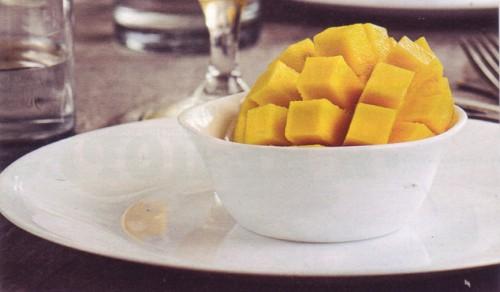 рецепты десертов манго в имбире