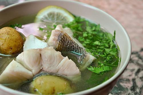 уха рецепт уха рыбацкая