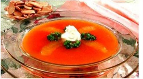 рецепт холодника с морковью и творогом