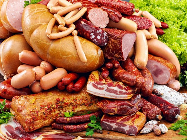 нарезка колбасная и мясная - 25