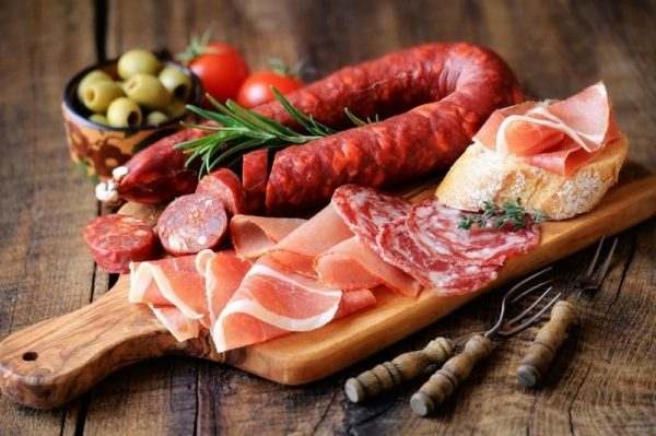 нарезка колбасная и мясная - 27