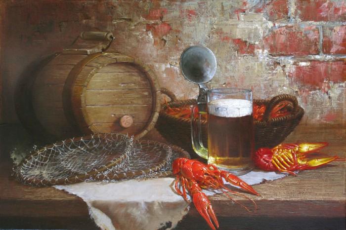 натюрморты с пивом-15