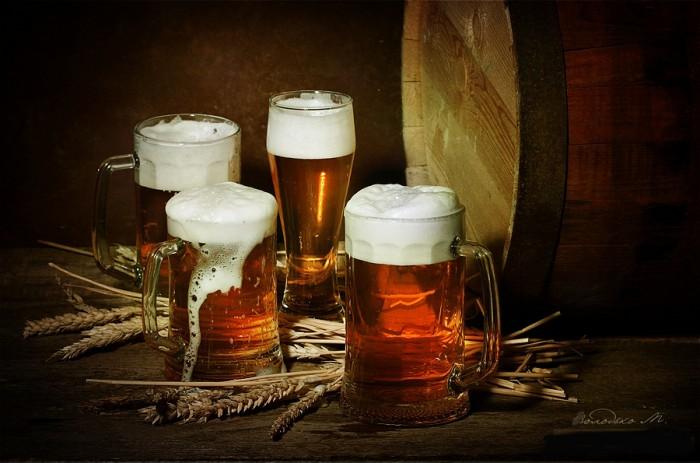 натюрморты с пивом - 19