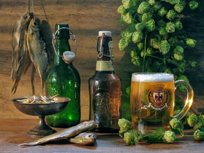 натюрморты с пивом - 21