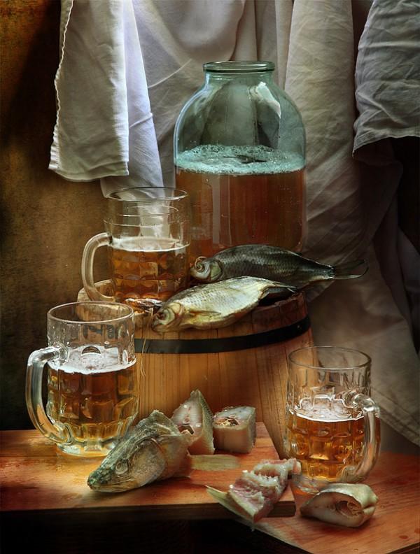 натюрморты с пивом - 28