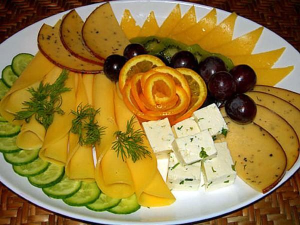 нарезанный сыр -15