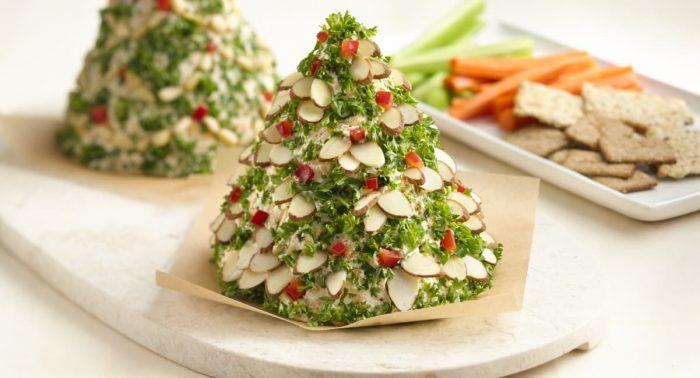 украшение блюд новогоднего стола - 45