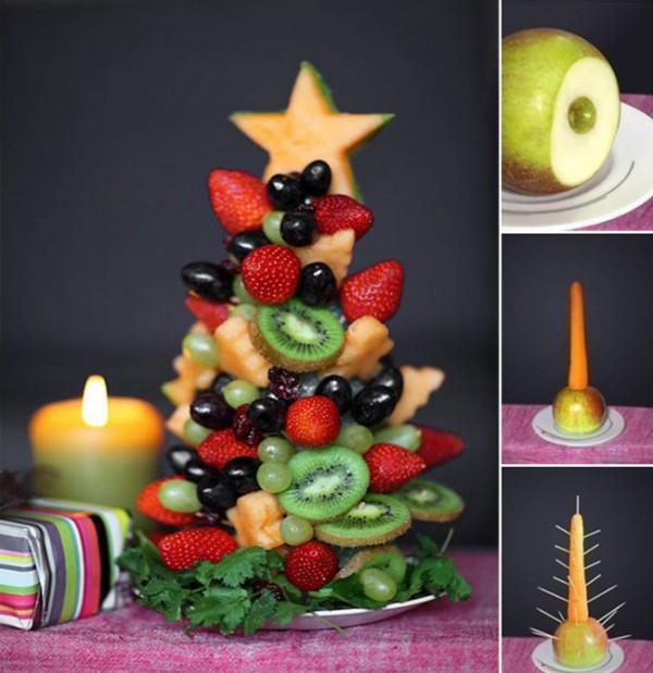 украшение блюд на новый год-21