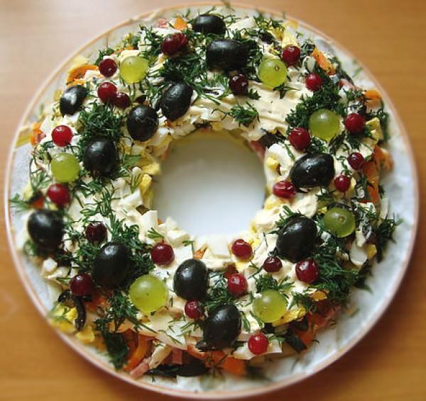 украшение блюд на новый год-30
