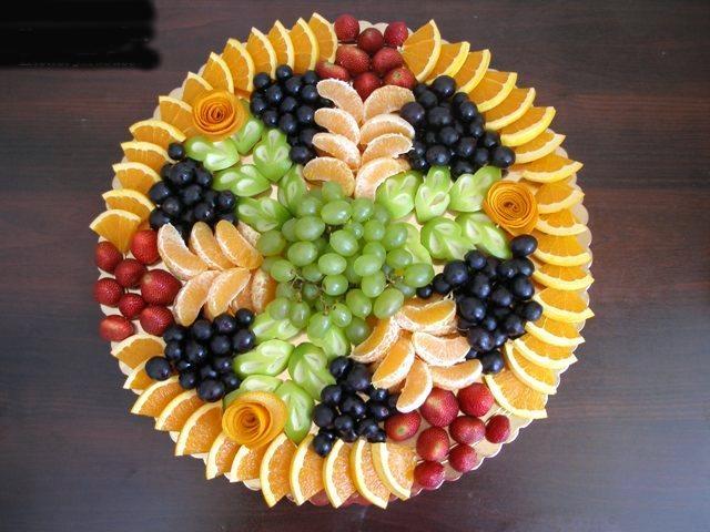 Как оформить фруктовый стол: карвинг из фруктов