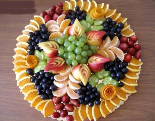 правильно носить как красиво нарезать фрукты фото создается