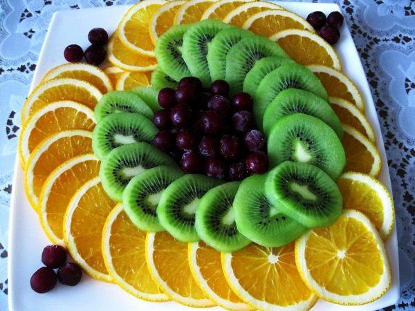фруктовая нарезка фото - 33