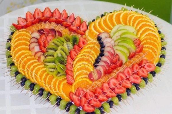 фруктовая нарезка фото - 34