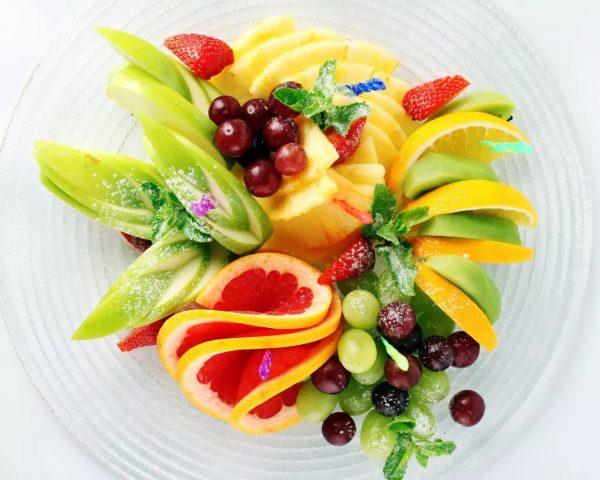 фруктовая нарезка фото - 35