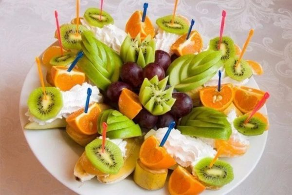 фруктовая нарезка фото - 36