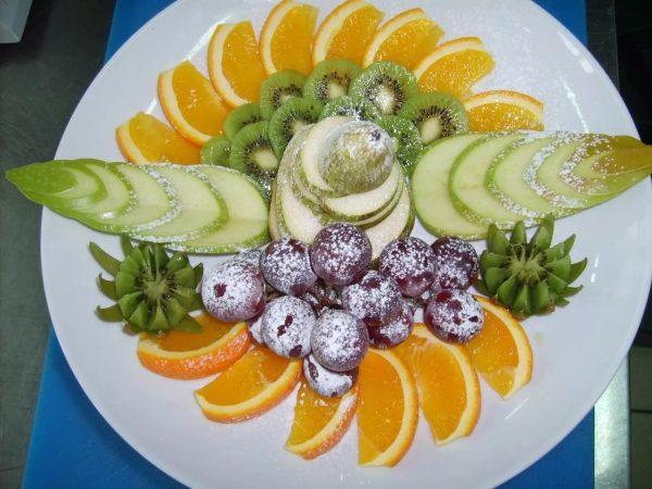 фруктовая нарезка фото - 37