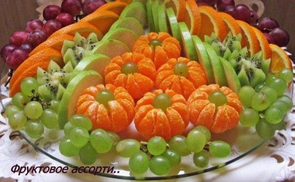 фруктовая нарезка фото - 38