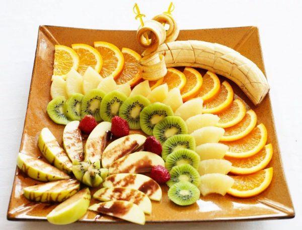 фруктовая нарезка фото - 39