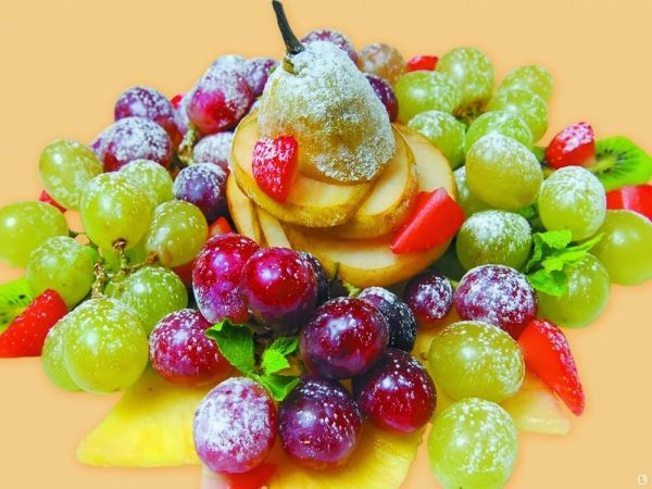 фруктовая нарезка фото - 41