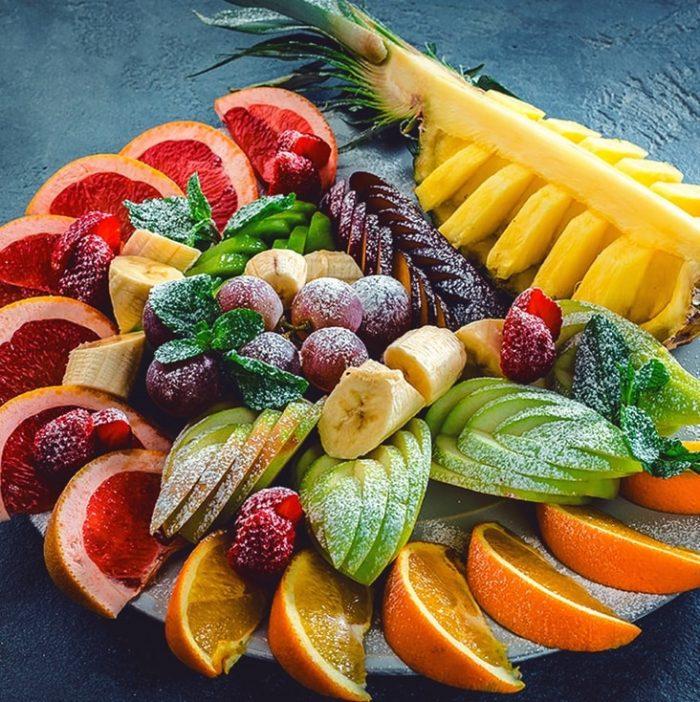фруктовая нарезка фото - 43