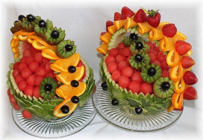 фруктовая нарезка фото - 45
