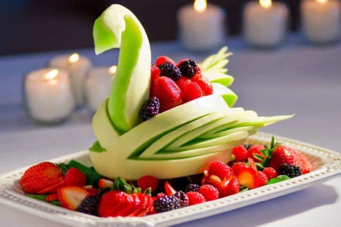 фруктовая нарезка фото - 46