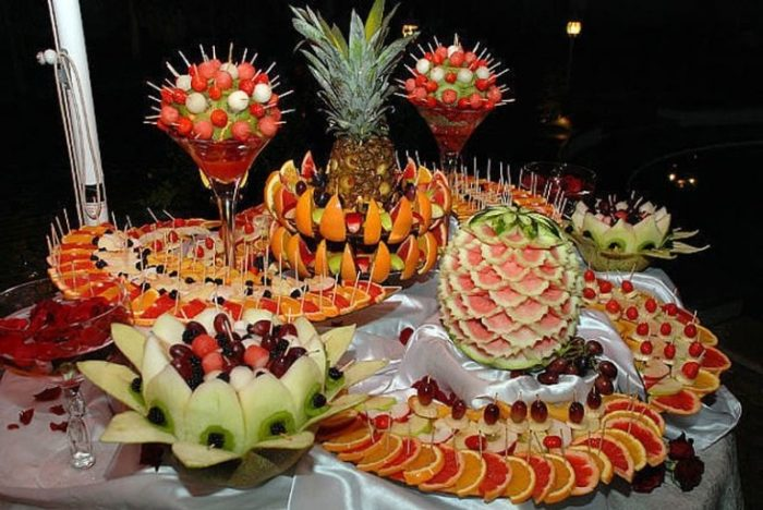 фруктовая нарезка фото - 47