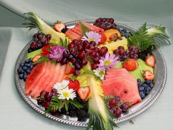 фруктовая нарезка фото - 48