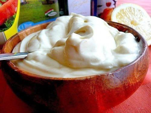 рецепт майонеза майонез без яиц