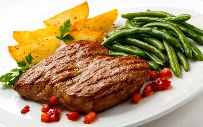 жареное мясо фото -03