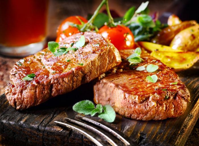 жареное мясо фото -14