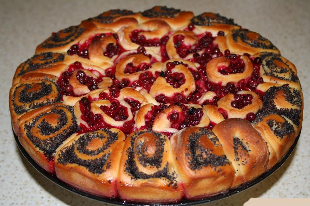 Пирог с маком рецепт с фото в мультиварке