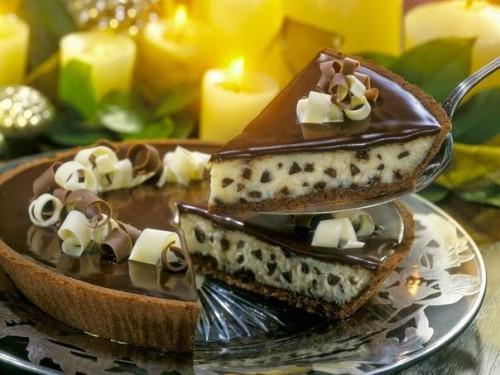 торты рецепты торт-чизкейк сливочно-шоколадный