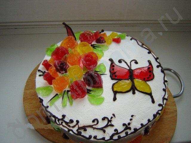 Украшения из мармелада для торта своими руками