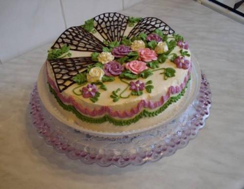 как украсить торт -22