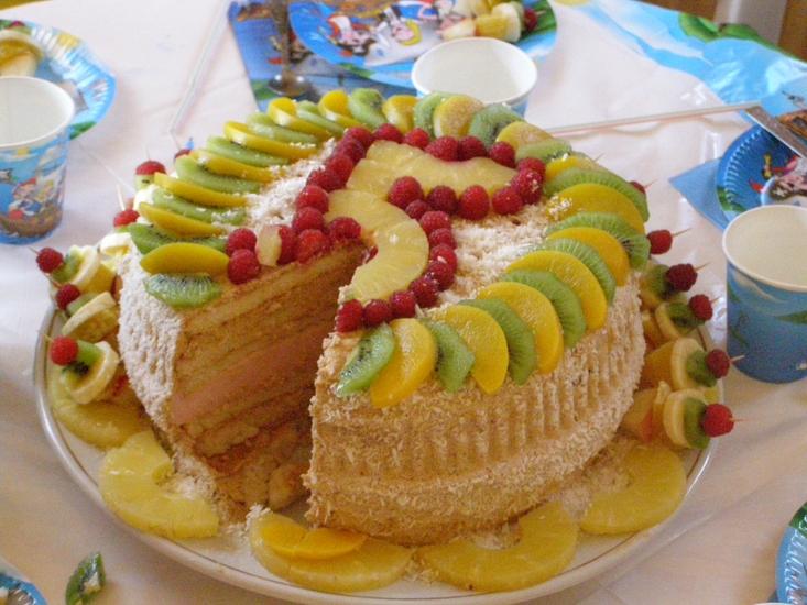 Красивые торты своими руками фото