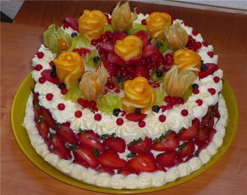 как украсить торт -06