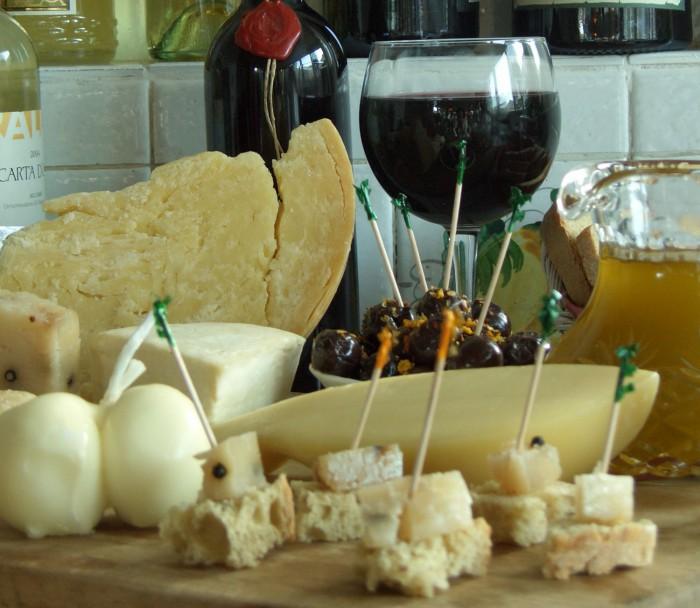 вино и сыр -15