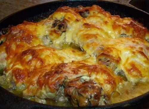 курица рецепты с сыром и чесноком