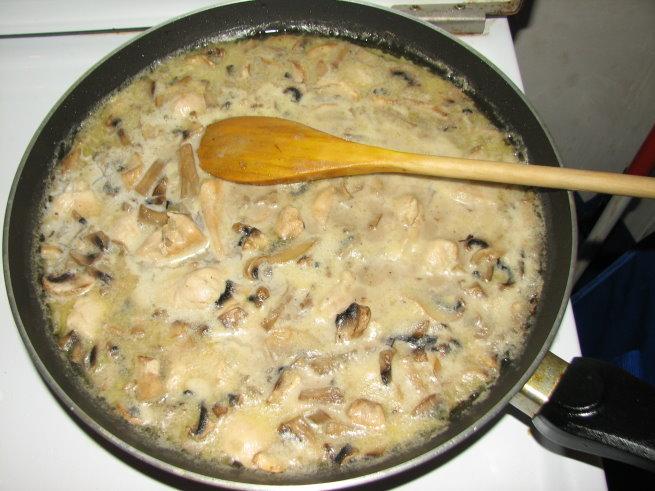 Как сделать соус из молока и грибов