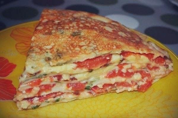 Закусочные торты рецепты с фото из блинов на