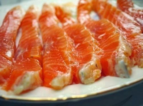 рыба рецепты маринад красной рыбы