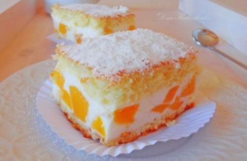 торты рецепты торт кусочки солнца