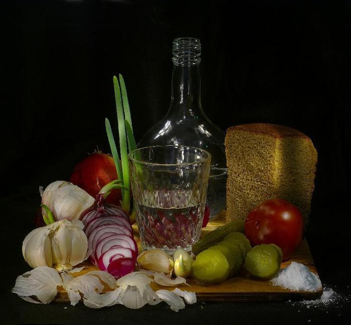 водка и закуска фото - 03